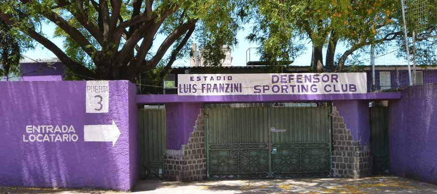 Estadio Luis Franzini entrance