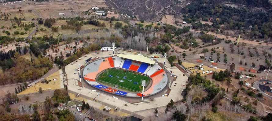 Aerial View of Estadio Malvinas Argentinas