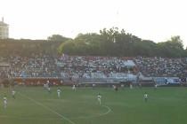 Inside Estadio Manuel Ferreira on matchday