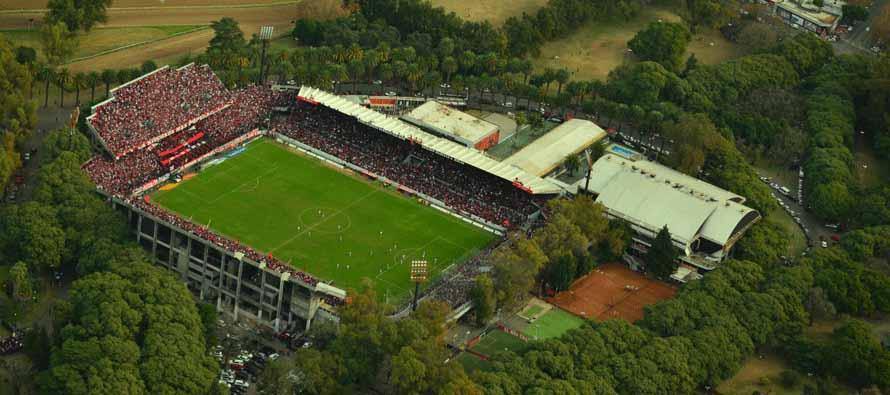 Aerial View of Estadio Marcelo Bielsa