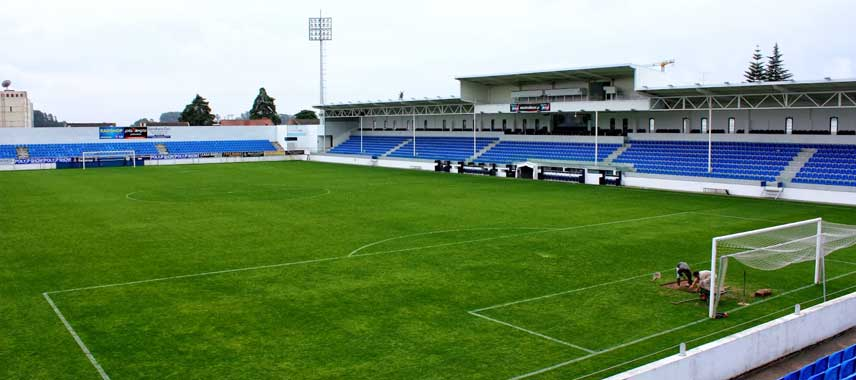 The main stand of Estadio Castro