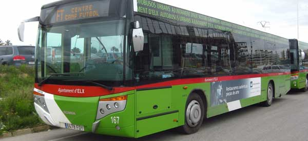 Matchday Bus Service to Martinez Valero Stadium