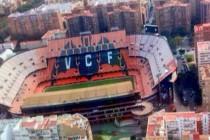 Estadio Mestalla from the sky
