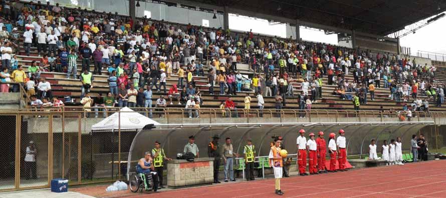Estadio Metropolitano Ciudad De Itagui dugout