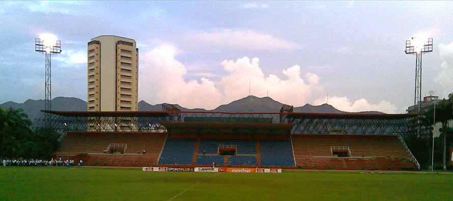 Estadio Misael Delgado main stand
