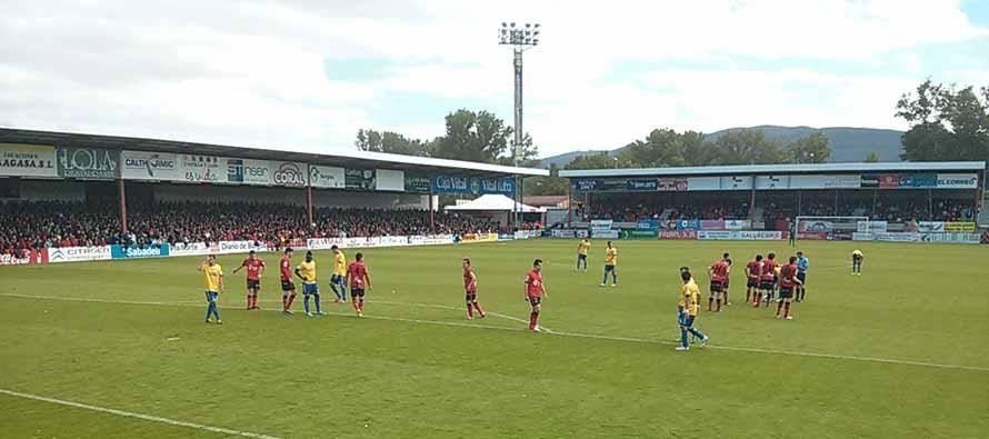 match ongoing at estadio de anduva