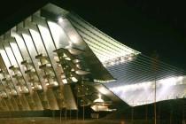 Estadio Municipal De Braga at night