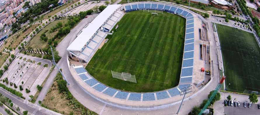 Aerial view of Estadio municipal de butarque