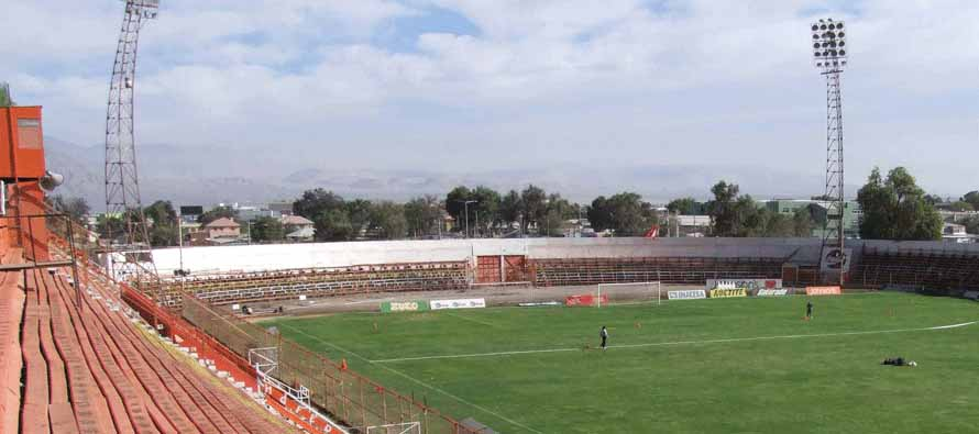 Inside Estadio Municipal De Calama