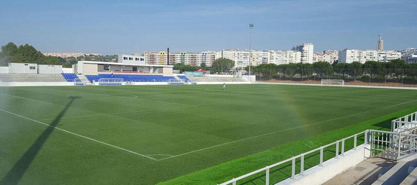 Inside view of Estádio Municipal José Martins Vieira