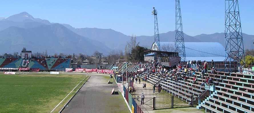 Inside Estadio Municipal Nicolas Chahuan