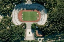 Aerial view of Portugal's national stadium