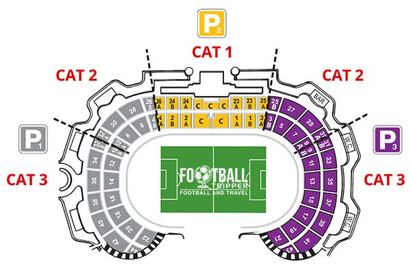 Portugal National Stadium Seating Plan