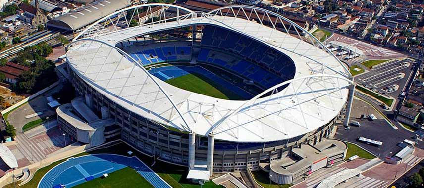 Aerial view of Estadio Nilton Santos