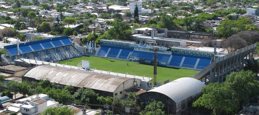Aerial View of Estadio Nuevo Monumental