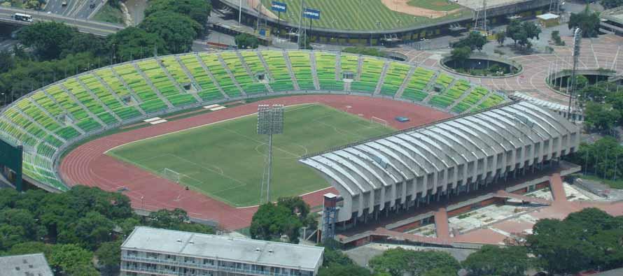 Estadio Olimpico Caracas Aerial view