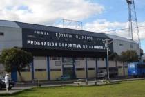 Estadio Olimpico De riobamba Main entrance