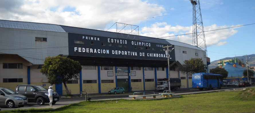 Estadio Olimpico De riobamba Main entrance