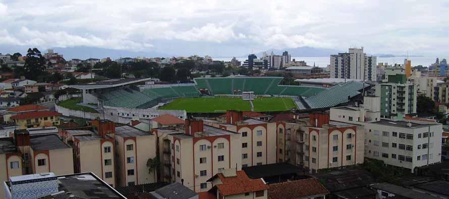Aerial view of Estadio Orlando Scarpelli