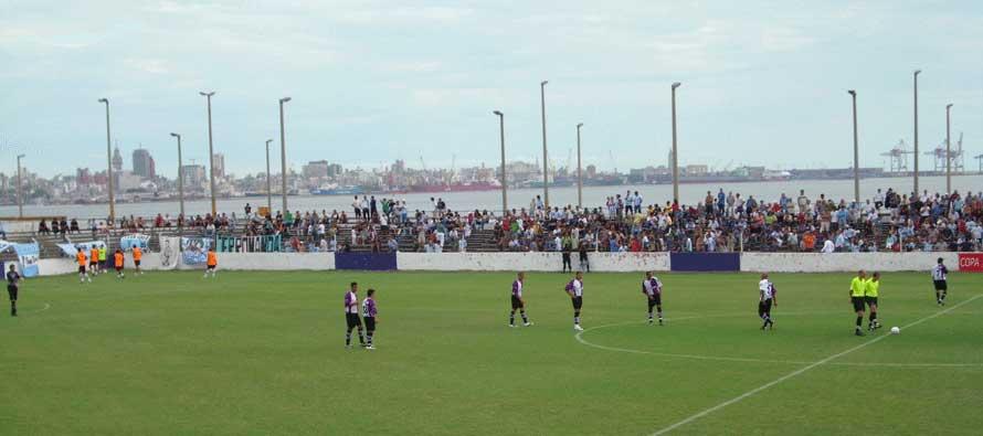 inside estadio parque capurro