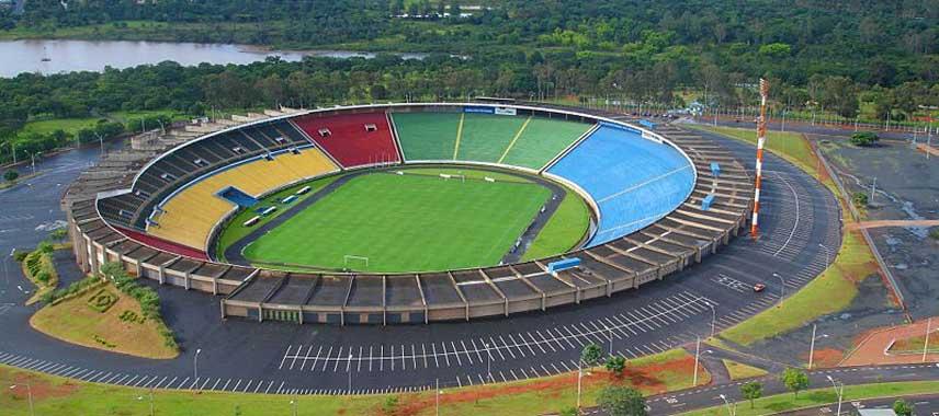 Aerial view of Parque do Sabia