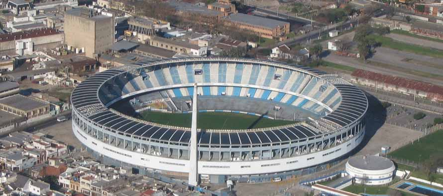 Aerial View of Estadio Presidente Juan Domingo Peron