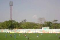 Inside Estadio Rafael Calles Pinto