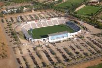 Aerial view of Estadio San Carlos De Apoquindo