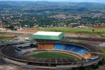 Aerial view of Estadio Serra Dourada