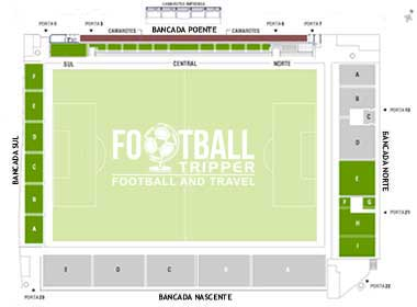 Estádio do Varzim Sport Club seating chart