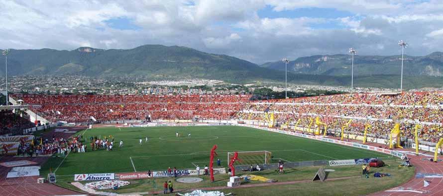inside estadio victor manuel reyna