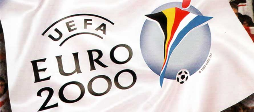 Euro 2000 Belgium and Holland official logo