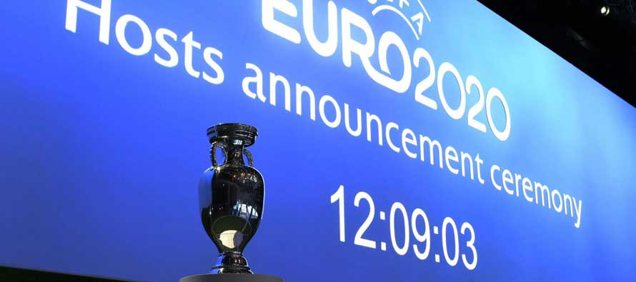 Euro 2020 Presentation and Trophy