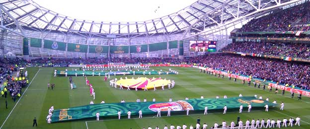 Aviva Stadium Europa League final