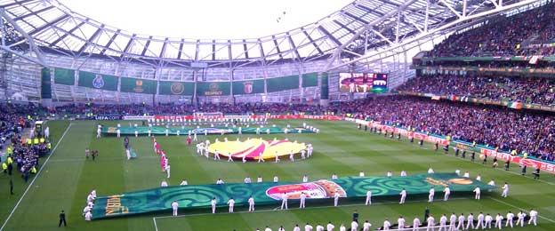 Aviva Stadium Europa League final
