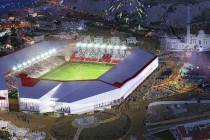 CGI Render of Gibraltar's new national stadium