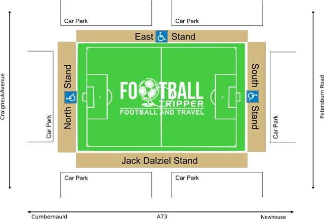Excelsior ground seating map