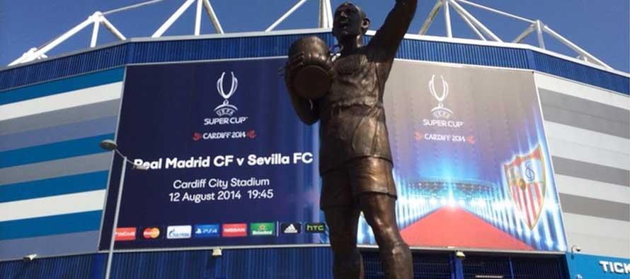 Exterior Cardiff City Stadium