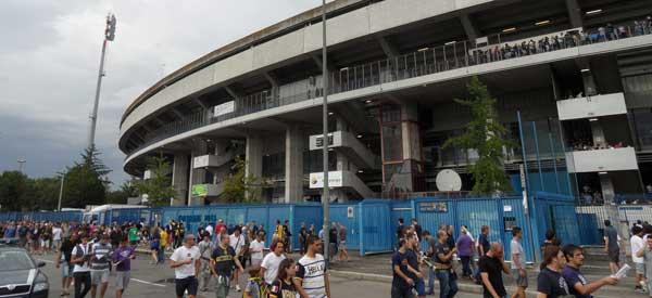 Exterior of Stadio Bentegodi