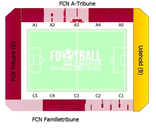 Farum Park Stand map