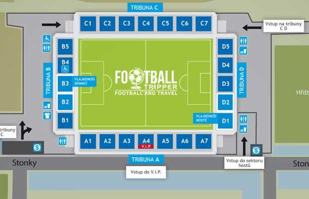 Miroslava Valenty City Stadium seating plan