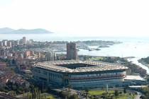 Aerial view of Sukru Saracoglu Stadium