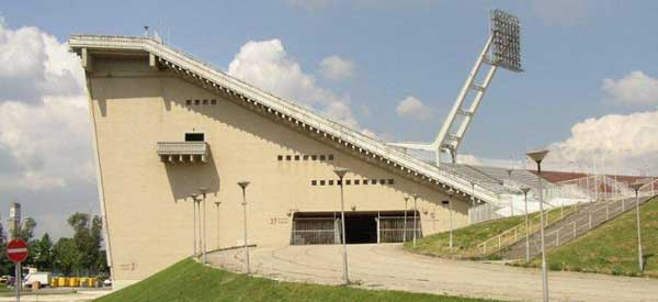 Ferenc Puskas Stadion Side view