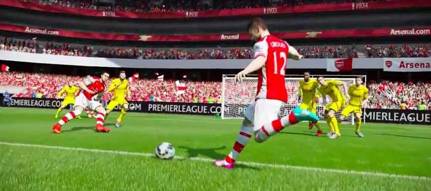 Giroud Free Kick Fifa 15