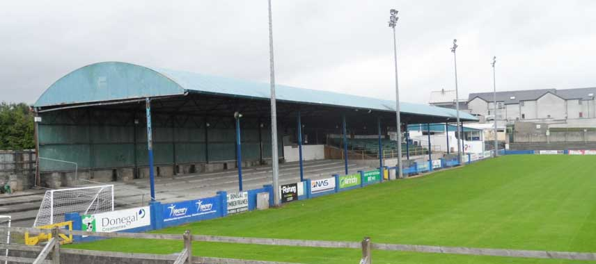 Main stand of Finn Park