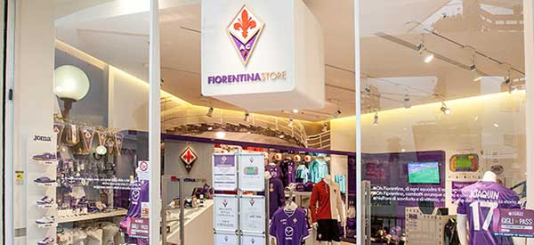Exterior of Fiorentina Store