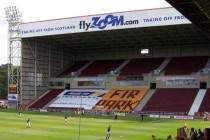 View of the goal end at Fir Park