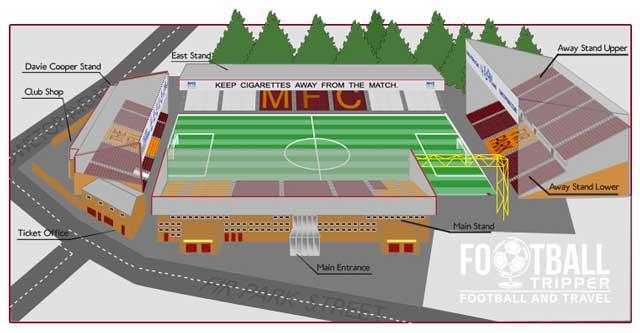 Fir Park Seating Plan Motherwell