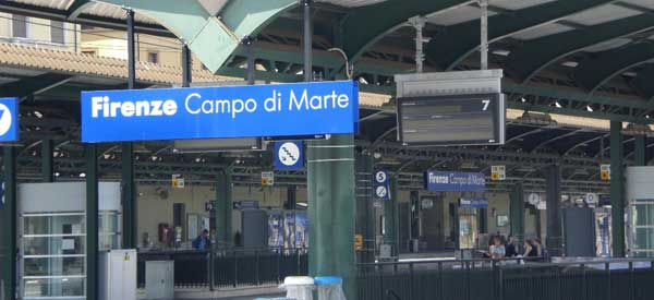 Campo Di Marte is the closest station to Fiorentina's ground.
