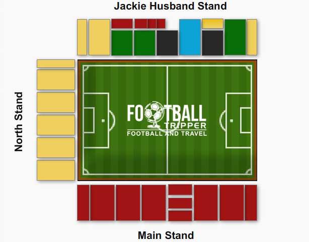 Firhill Stadium Seating Plan
